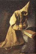 ZURBARAN  Francisco de Meditation of St Francis oil painting picture wholesale